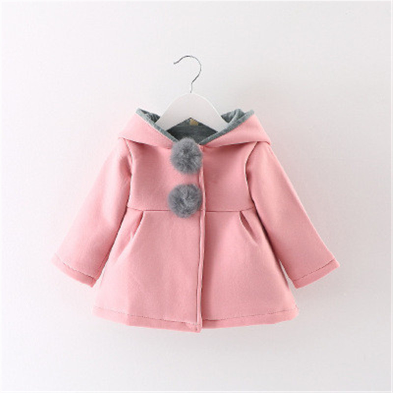 Children Bunny Jacket Spring Infant Newborn Baby Coats Rabbit Outwear Toddler Cute Kids Hood Clothing For S In Jackets From Mother