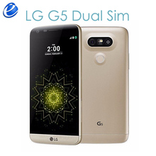"Original Unlocked LG G5 Dual Sim H860N 2 sim GSM 4G LTE  Android mobile phone Quad Core RAM 4GB ROM 32GB 5.3"" 16MP cellphone"