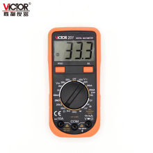 VICTOR VC201 multimeter light AD DC Ohm Digital Tester up to 500V light screen(China)