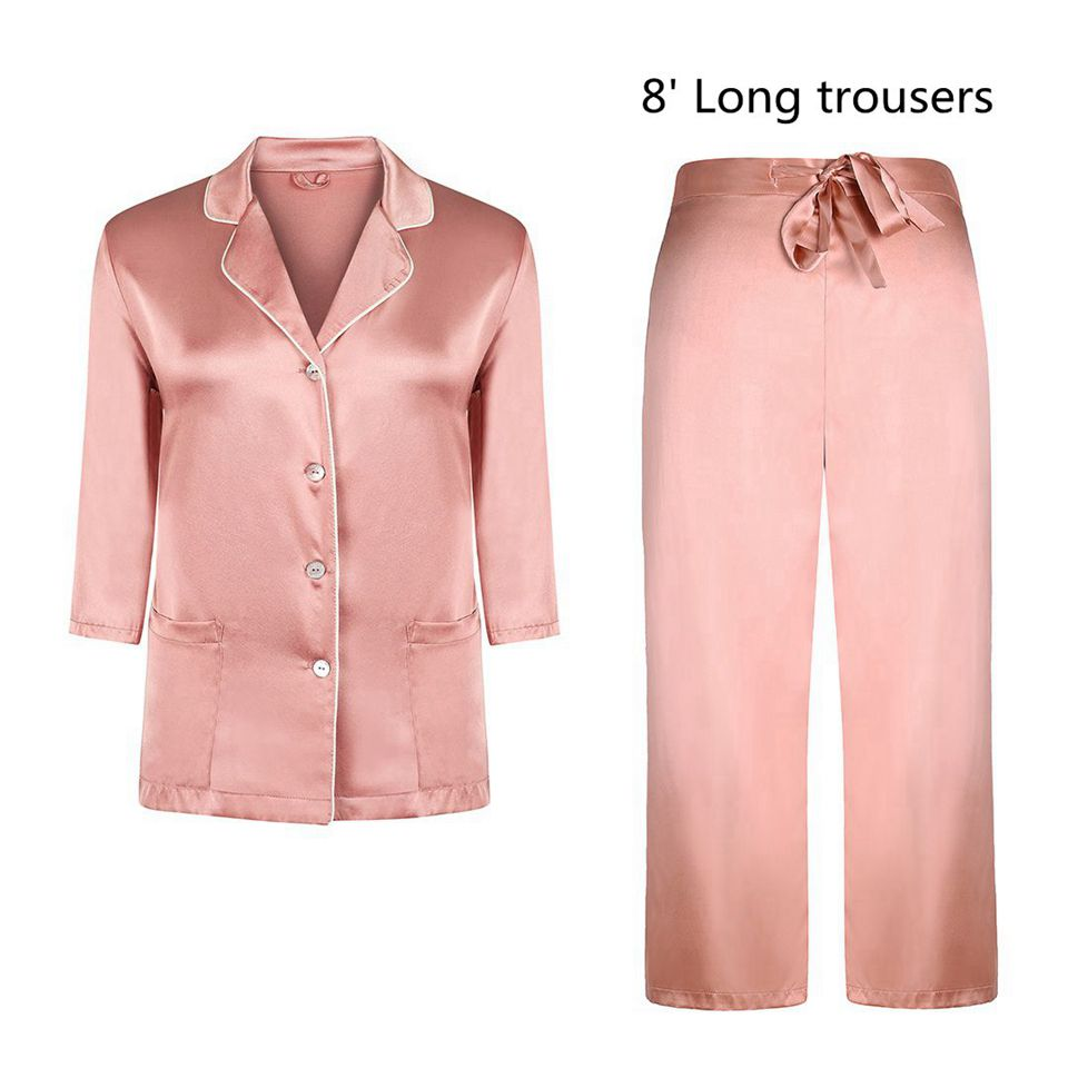Pink 8\'Long trousers