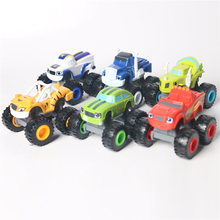 Hot Russian Blaze Car Model Collection Toys Racing Pick Darrington Zeg Crush Mini Vehicle Models Best Gift For Boys