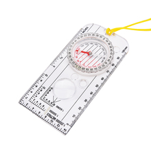 Outdoor Camping Directional Cross-country Race Hiking Special Compass Baseplate Ruler Map Scale Compass Bussola