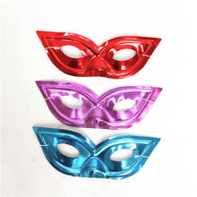 2016 party suppliers Neon plastic party mask for decoration