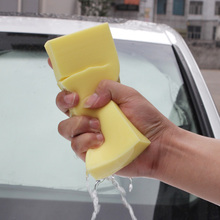 1PC Car Washing Sponge PVA Absorbent Sponge Car Washing Sponge Ultra Soft Auto Supplies Car Cleaning Random Color