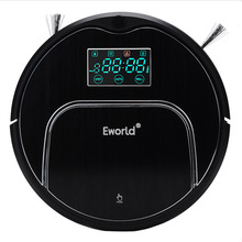 Eworld Robot Vacuum Cleaner M883 For Home House Floor MOP Cordless Clean robot sweeper with Auto recharging Remote controller(China)