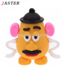JASTER cute Mr. Potato Head Pen Drive 4GB 8GB 16GB 32GB Usb Flash Drive Pendrive memory stick U disk Free Shipping