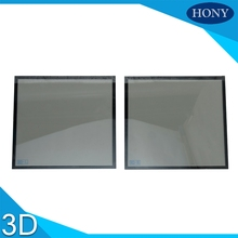 In front of projectors make 3d polarizer for projector Circular polarized 3D filters size 10*10cm for DLP projectors use