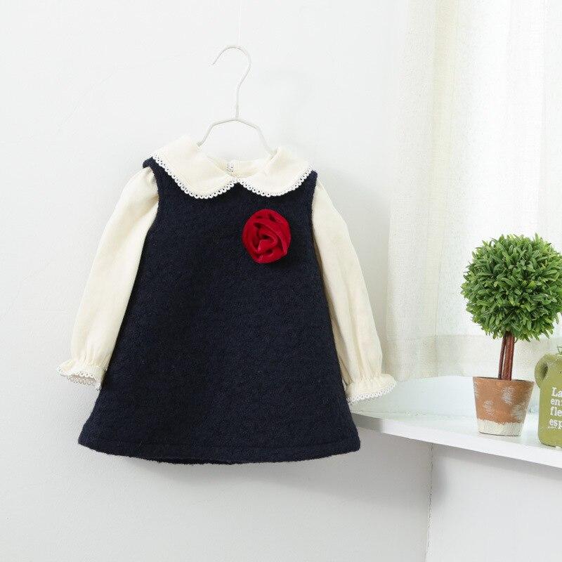 Girls flowers sleeveless dress children in autumn and winter fashion cute pretty girls sundresses Kids<br><br>Aliexpress