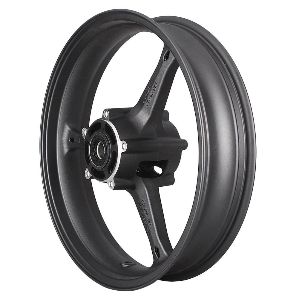 Motorcycle Front Wheel Rim for Suzuki GSXR 600 750 K6 GSXR600 GSXR750 2006 2007 & GXSR1000 1000 K5 K7 2005-2008 Aluminum Alloy