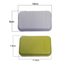 Waterproof ABS Plastic Foam Fly Fishing Lure Bait Hook Tackle Storage Case Fish Lure Bait Tackle Box 2Colors Big/ Large(China)