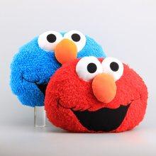 e53e16af9a High Quality Sesame Street Elmo   Cookie Monster Plush Pillow Stuffed Soft  Dolls Kids Christmas Gift