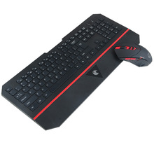 E780 Wireless Keyboard and Mouse Combo Set 2.4GHz Ultra Slim Multimedia keys Ergonomic design With Palm Rest For Computer(China)