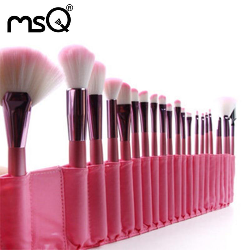Pro 22pcs/set Pink Makeup Brushes Kits Women Foundation Lip Eyeshadow Eyeliner Cosmetic Brush Beauty Tools Set+Case Maquiagem<br>