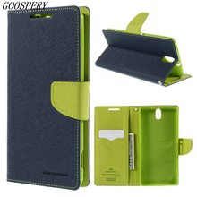 Buy Sony Xperia C5 Case MERCURY Goospery Leather Wallet Flip Cover Case Sony Xperia C5 Ultra E5553 / Ultra Dual E5533 for $7.64 in AliExpress store