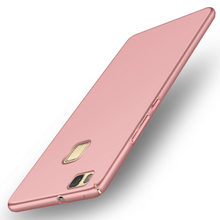 GerTong Mobile Phone Cases For Huawei Ascend P8 2017 P9 Lite 2016 Caqa Matte Protect PC Back Cover For Honor P8 Lite Cover(China)