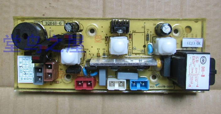 Free shipping 100% tested for Washing machine board xqb50-5218 motherboard xqb48-6 on sale<br>