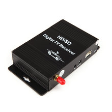 car digital tv atsc tuner with over 180km/h freeview television for United States Equiped with Best Antenna