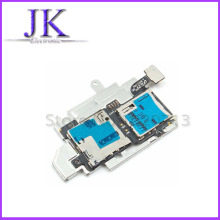 1pcs Sim Card Reader Holder Micro SD Memory Socket Slot Tray flex cable For Samsung Galaxy S3 S III i9300 Replacement