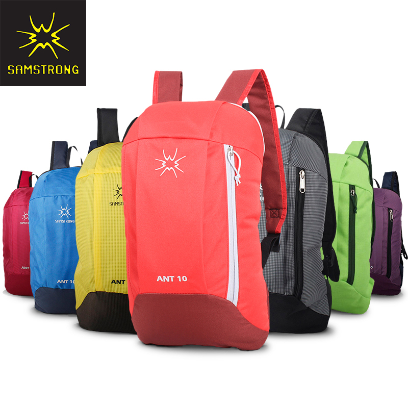 Samstrong 10L Women Men Sport Backpack Boy Girl Hiking Camping Outdoor Travel Backpack waterproof Mountaineering Bag