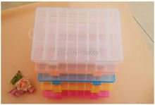 Available Factory Sale DIY Needlework Embroidery / Cross Stitch Tool Plastic Storge Box 24 Grids--Available