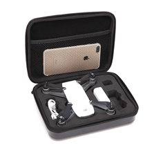 2/3 A4 Size Waterproof Drone Box Bag RC Quadcopter Spare Parts Softshell Suitcase Handbag Case For DJI Spark RC Models Toys(China)