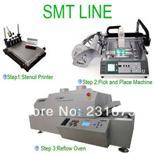 SMT Automatic Pick and Place Machine TM240A,Reflow Oven T-960,Stencil Printer,the manufacturer,Neoden Tech,surface mounting,Led