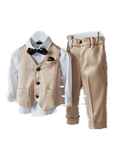 BABY WOW Real Baby Boys Formal Suits for Weddings Roupa Infantil for Esmoquin Wedding Party 1-8T Baby Boy Clothes 80980<br><br>Aliexpress