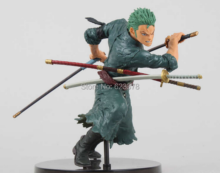 One Piece  brinquedos meninos onepiece zoro pvc Action Figure Collectible Toys for kid boy<br><br>Aliexpress