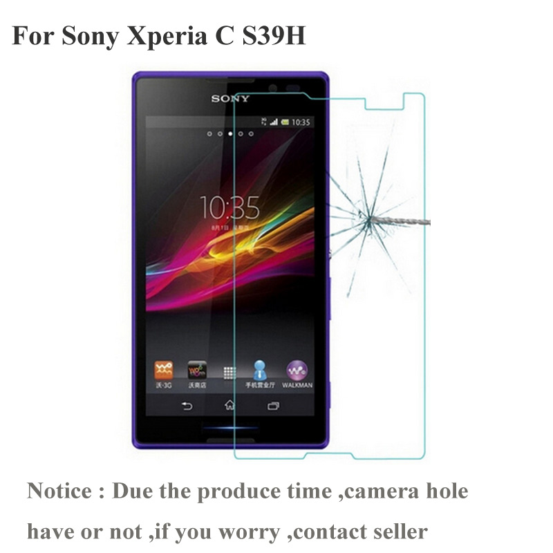 Защитное стекло для Sony Xperia C S39h 2305 C2304 C2305 S39|tempered glass screen protector|glass protectorscreen protector |