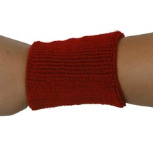 JEYL 1x Headband and 2x Elastic Wrist bands for Sports - Red