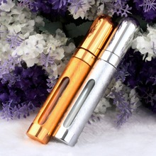 4pcs Brand 100%Fashion Deluxe Travel Refillable Mini Atomiser Spray Perfume 12ml Bottle top quality(China)
