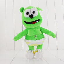 30cm Gummy Bear Voice Pet Funny Lovely Toys Singing Plush Toy Soft Stuffed Doll For Kids Gift