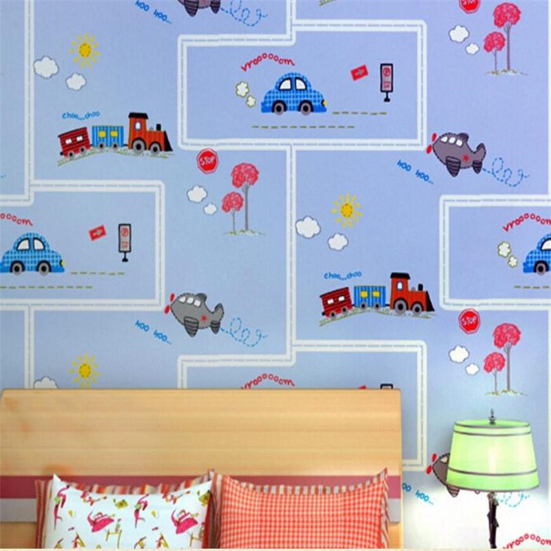 Beibehang High quality luxury wallpaper cartoon childrens room 3d wallpaper living room home decoration wallpaper for walls 3d<br>