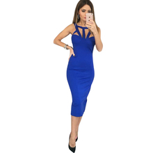 Buy Sexy Bodycon dress Bandage Sleeveless Slim dress Party Dress Vestido De Festa Women Clothing LJ5069M for $8.98 in AliExpress store