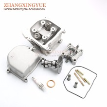 Buy 39mm non-egr cylinder head kit & cylinder cover & CAM & rocker arm assembly GY6 50cc 139QMB scooter for $5.99 in AliExpress store