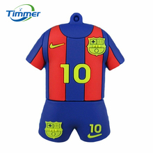 pen drive Brasil football clothing usb flash drive World Cup jerseys Pendrives Brazil jersey pendrive 8gb 16gb 32gb 64gb Memory