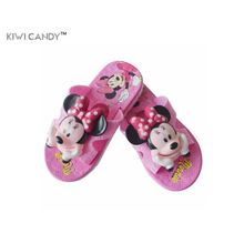 boys girls slippers summer flip flop children's sandals 3D cartoon Mickey minne boys girls beach slippers kids shoes sandal(China)