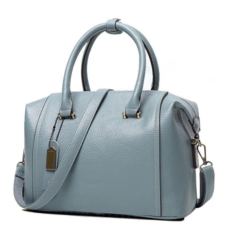 Yuocl women genuine leather bag Womens messenger bags tote handbags women famous brands high quality shoulder bag ladies<br><br>Aliexpress