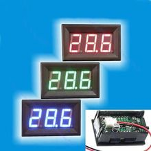 A96 DC LED Voltage Panel Meter 3Bit Digital Display Voltmeter 1pc New Mini 4.5-30V #XY#