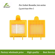 Aihome 2 PACK Hepa Filters Replacement Parts for iRobot Roomba 700 Series 760 770 780 790 Vacuum Cleaner Robots(China)
