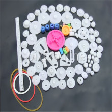 85pcs K841 85 Plastic Gears Pack without repetition DIY Technology Model Making Free Shipping Russia(China)