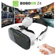 2017 Google cardboard VR BOX 2 XiaoZhai bobo vr z4 Virtual Reality 3D Glasses VR Headset earphone movie + Bluetooth Controller
