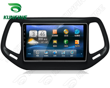 Quad Core 1024*600 Android 5.1 Car DVD GPS Navigation Player Deckless Car Stereo for Jeep Compass 2017 Radio Bluetooth
