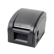 80mm Thermal barcode sticker label printer Xprinter 360B usb port self-adhesive label printing machine ship from Russia