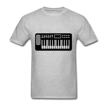 New Coming Men Printed t shirts Keyboard Piano Brand Clothing Plus Size Short Sleeve T-Shirt Plus Size