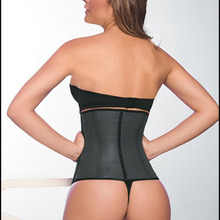 39386c370 Wholesale women latex waist trainer corset~ 4steel bones colombian waist  cincher~ ann cherry latex