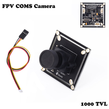 Wholesale OCDAY 1pcs 1000 TVL FPV HD COMS Camera 2.8mm Wide Angle Lens for Multicopters NTSC PAL Dropship