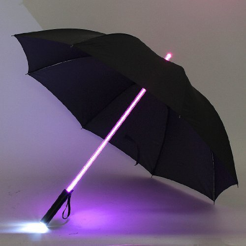Cool Light LED Flash Umbrella Night Protection Gift Multicolor for Choose(China (Mainland))