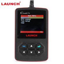 Hot Sale 2017  Launch Creader V+ OBD2 Code Reader Code Scanner CReader V Plus OBDII diagnostic tool Update Free online