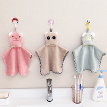 2016 creative Cartoon Microfiber Towel Absorbent Hands Dry Cloth Dishcloth Bowel Oil Cleaning Dish Kitchen Bathroom Accessories